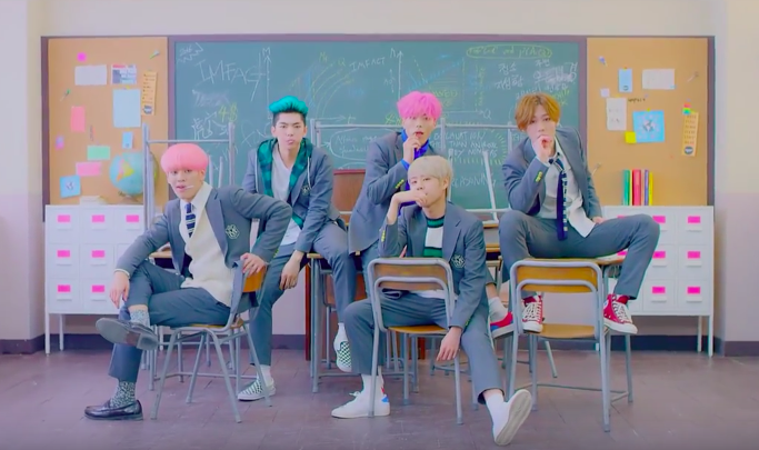 """IMFACT Wants You to Be Their """"Lollipop"""" in Debut Music Video"""