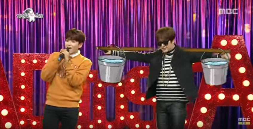 "Watch: Kyuhyun and Ryeowook Are Rap Gods Performing Dynamic Duo's ""Guilty"""