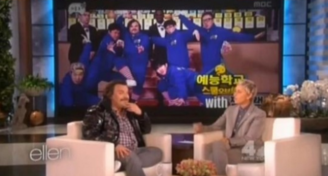 "Watch: Jack Black Discusses His Experience With ""Infinite Challenge"" on ""The Ellen DeGeneres Show"""