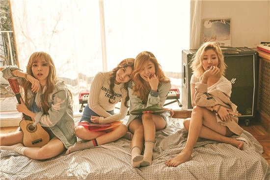 """MAMAMOO Takes Over Music Charts With Pre-Release Single """"I Miss You"""""""