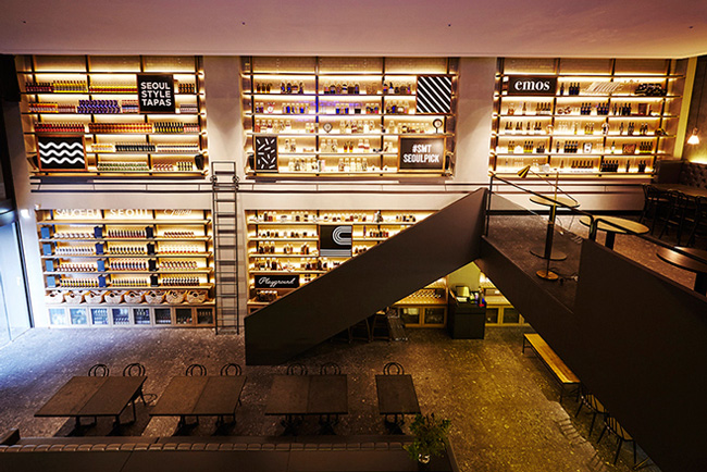 Check Out SM's New Five-Story Eatery in Cheongdam