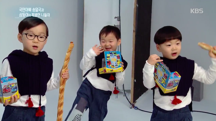 "Minguk and Manse Reveal When They Like Their Dad the Most on ""Entertainment Weekly"""