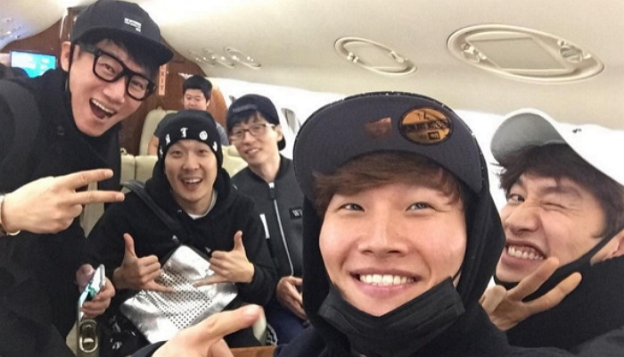 "Kim Jong Kook Shares Photo From Inside Private Plane With ""Running Man"" Crew"