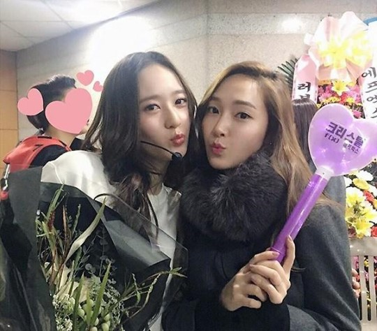 Jessica Shows Support for Krystal at f(x)'s First Solo Concert