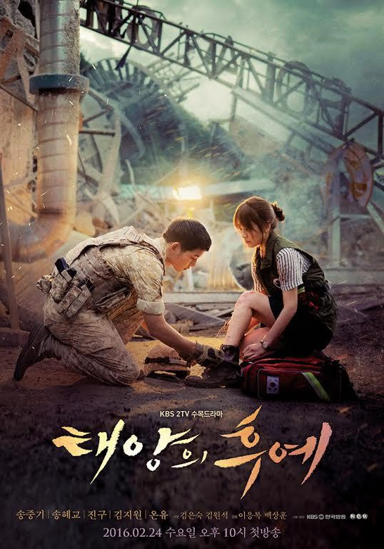 "Love Blossoms for Song Joong Ki and Song Hye Gyo in New ""Descendants of the Sun"" Poster"