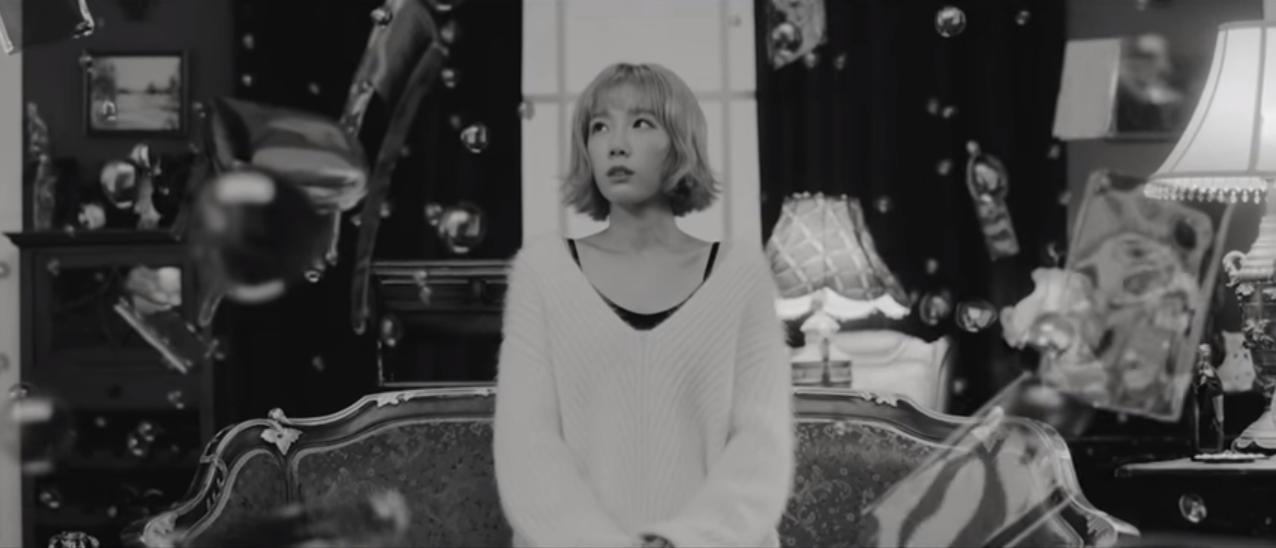 "Girls' Generation's Taeyeon Releases ""Rain"" MV"