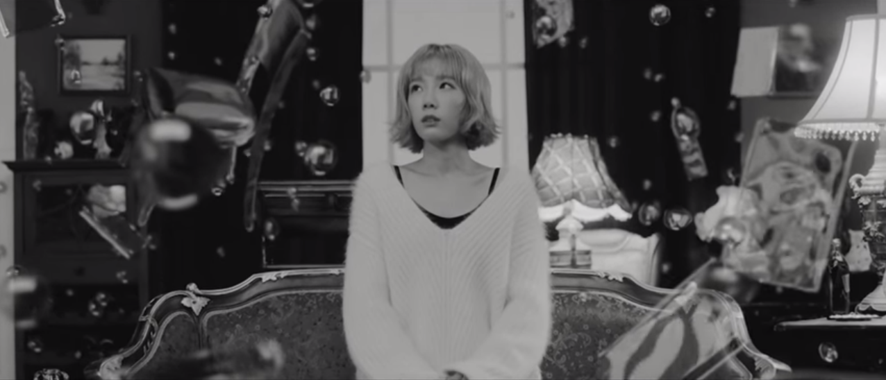 "Girls' Generation's Taeyeon Releases ""Rain"" MV"