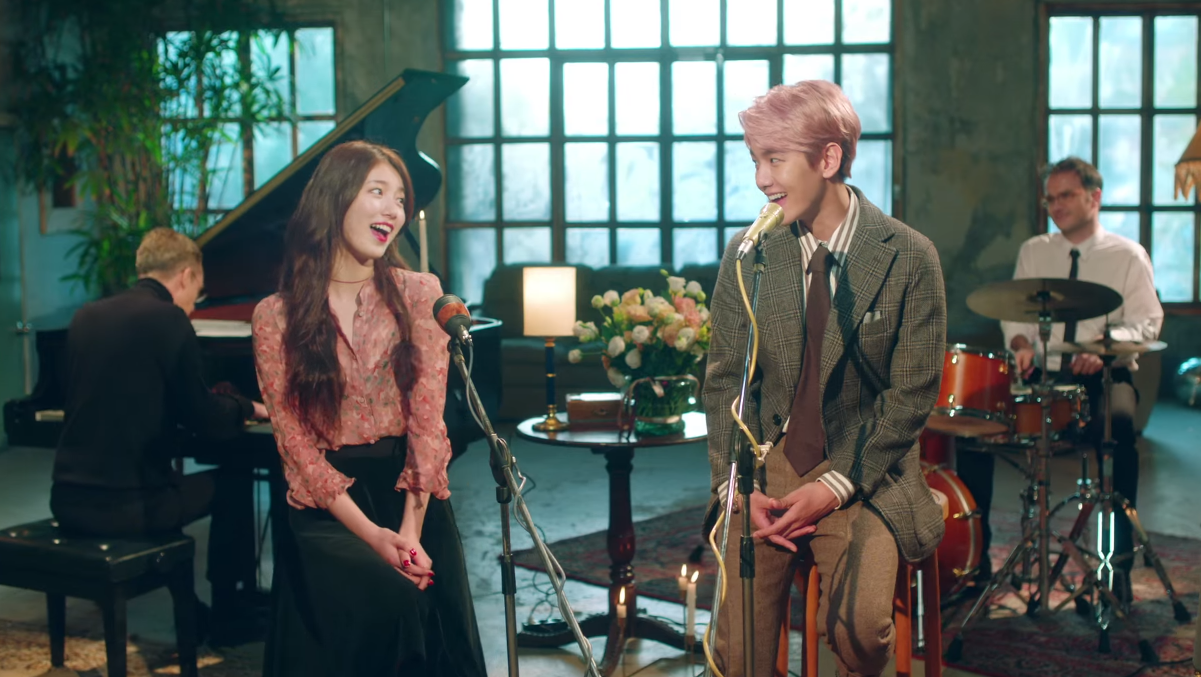 Suzy and Baekhyun in Dream MV