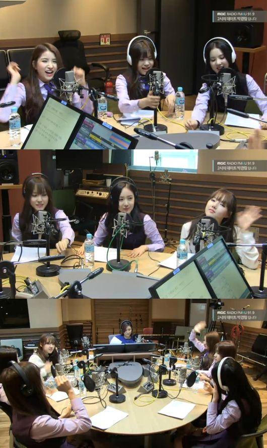 GFRIEND radio show