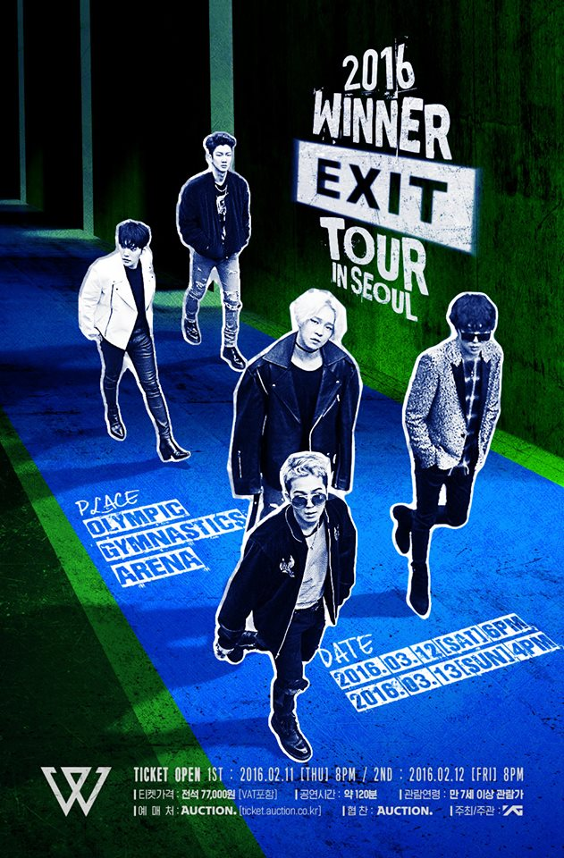 WINNER Announces First Concert in March