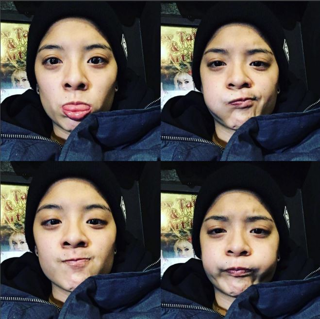 f(x)'s Amber Takes Part in Viral Meme