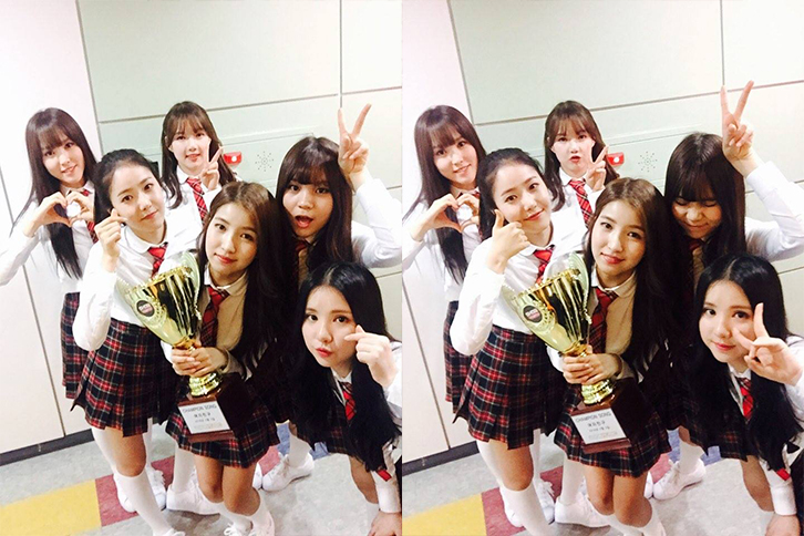 """GFRIEND Wins On """"Show Champion"""" with """"Rough,"""" Performances by 4Minute, Ryeowook and More"""