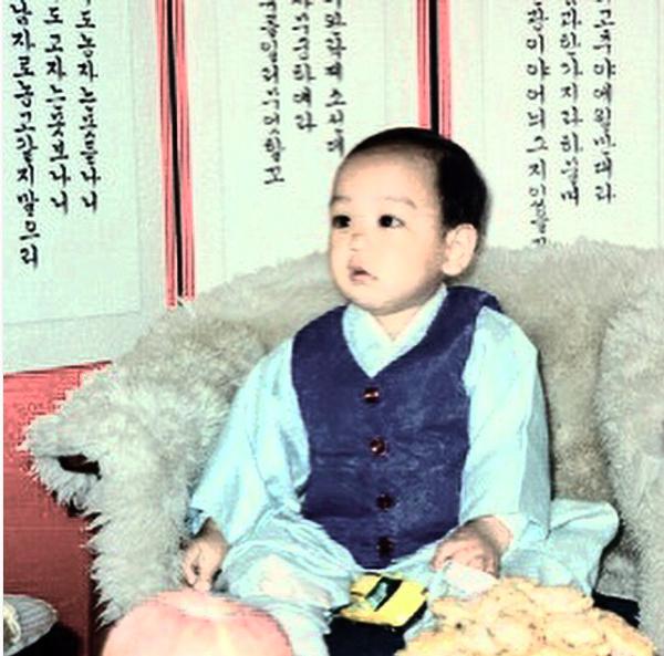 BIGBANG's T.O.P Shares Adorable Childhood Photo