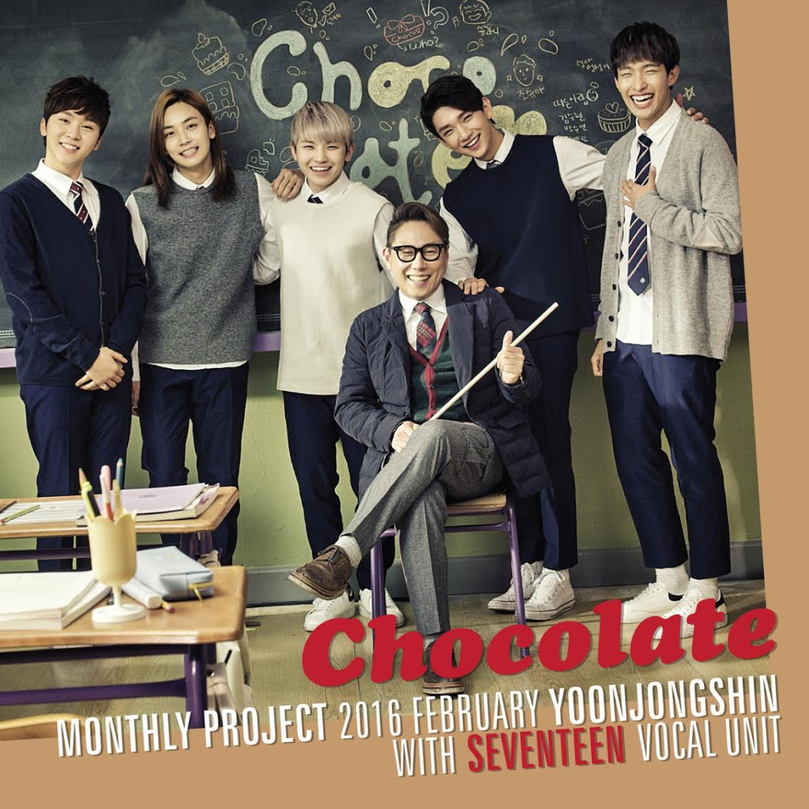 "Yoon Jong Shin and SEVENTEEN's Vocal Unit Collaborate With ""Chocolate"""