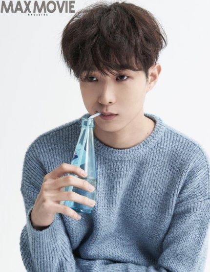 Rising Star Choi Woo Shik Poses for Max Movie Magazine