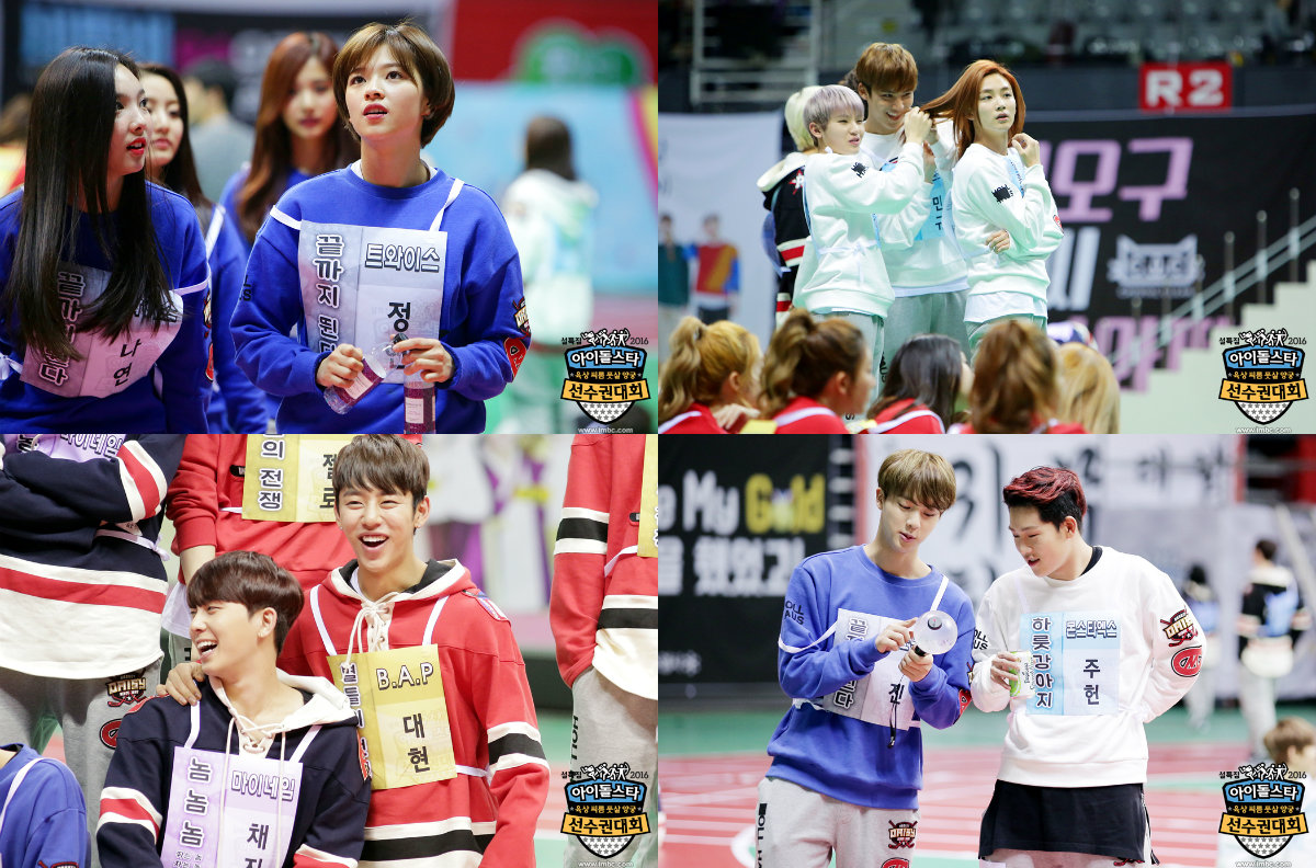 """Take a Look at Behind the Scenes of the """"2016 Idol Star Athletics Championships"""""""