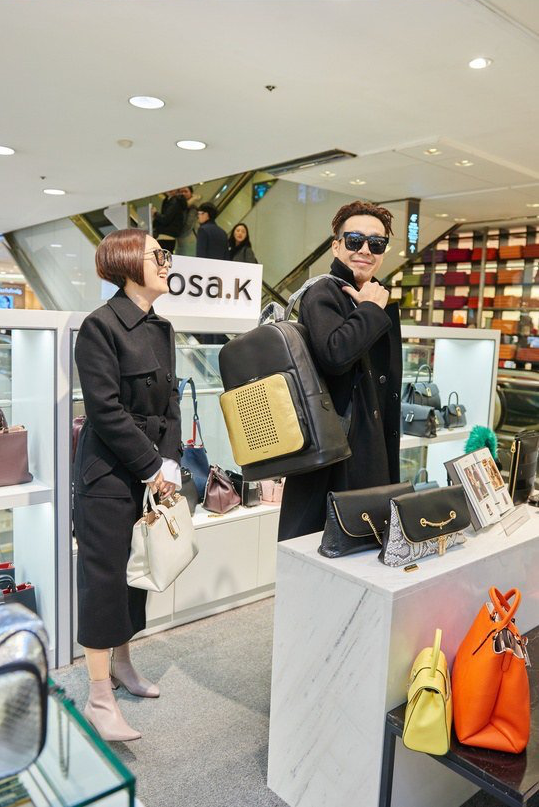 Haha and Byul Are Chic and Adorable Fashionistas in Photos From Couple Shopping Trip