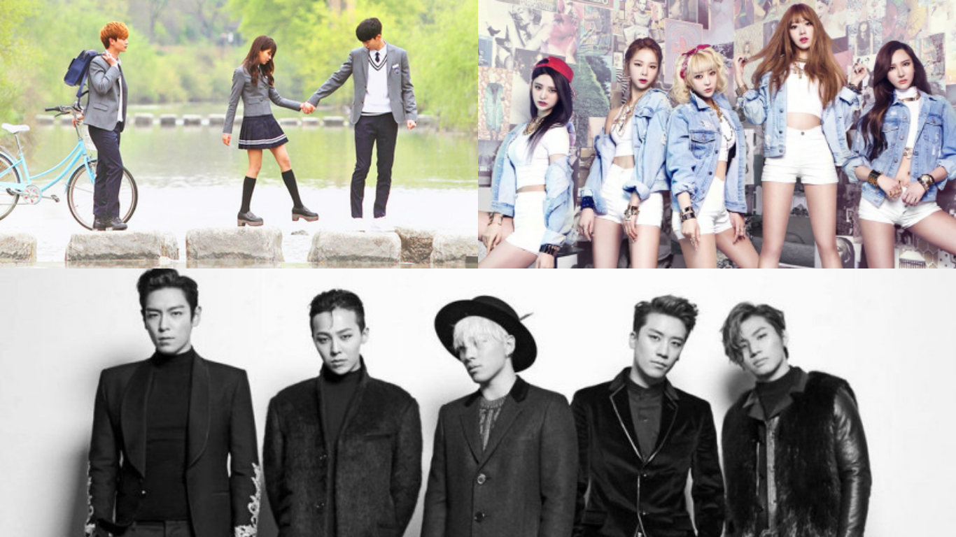 Top 20 K-Pop Songs of 2015 in Taiwan Revealed