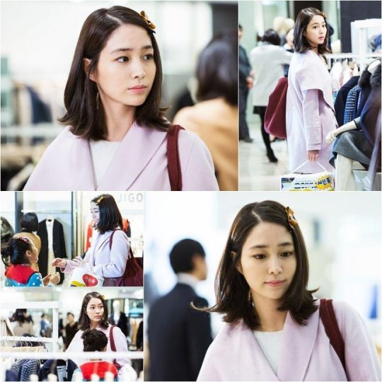 """Lee Min Jung Is a Loving Housewife on """"Please Come Back, Mister"""""""