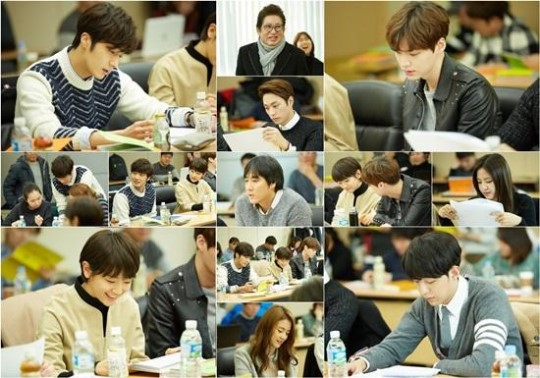 """""""Cinderella and the Four Knights"""" Excites Fans With First Script Reading Photos"""