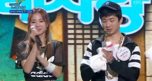 Watch: EXID's Solji Teams Up With Her Older Brother For a Performance