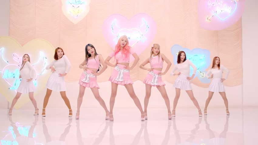 "AOA Cream Drops MV Teaser for Debut Track ""I'm Jelly Baby"""