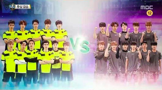 BEAST's Yoon Doo Joon and VIXX's Leo Face Off in Futsal Match