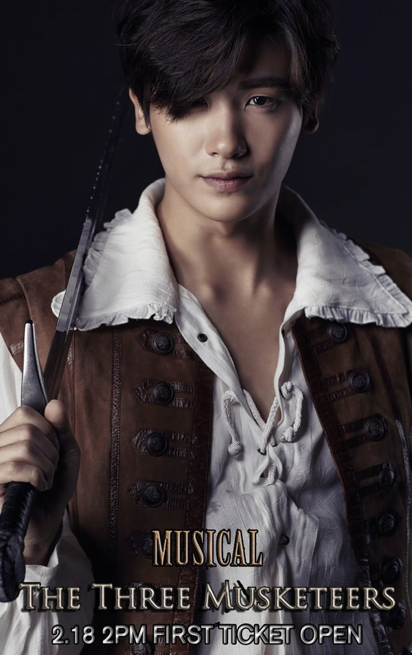 park hyung sik three musketeers