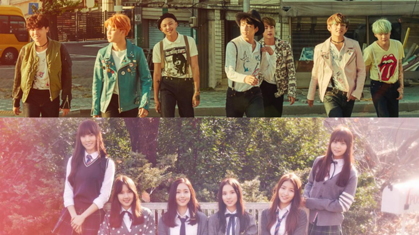Korean Media Outlet Lists BTS, GFRIEND as Surprising Success Stories