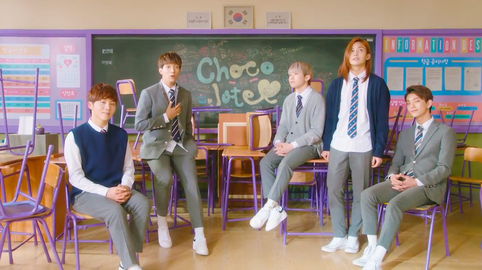 """SEVENTEEN's Vocal Unit Gets Lost in Romantic Daydreams in Yoon Jong Shin's """"Chocolate"""" MV"""