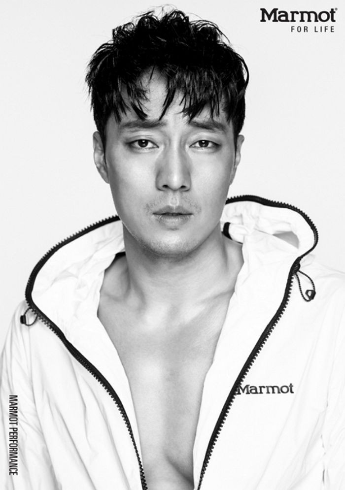 So Ji Sub Simmers in His Latest Photo Shoot for Marmot ...