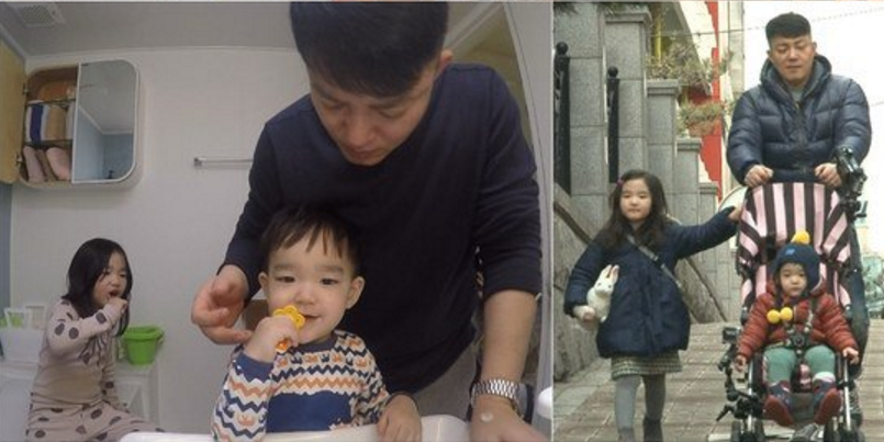 """""""The Return of Superman"""" Introduces Lee Beom Soo and His Children in New Stills"""