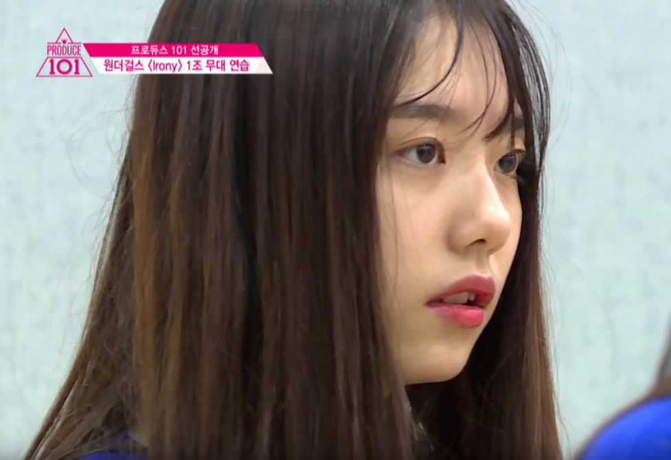 "Trainee Kim Sohye Makes Trainer Cry on ""Produce 101"""