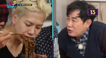 Watch: GOT7's Jackson Gets Fed by a Blindfolded Park Joon Hyung