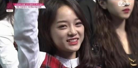 """Kim Sejung Recognized for Her Talent and Kindness on """"Produce 101"""""""