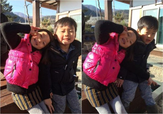 """Choo Sarang and Yuto Have a Happy Reunion in Photos From """"The Return of Superman"""""""