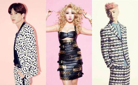 Leeteuk, CL, Yongguk