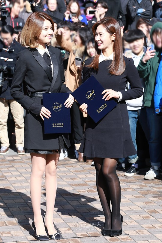 graduation star daily news Yuri and sooyoung2