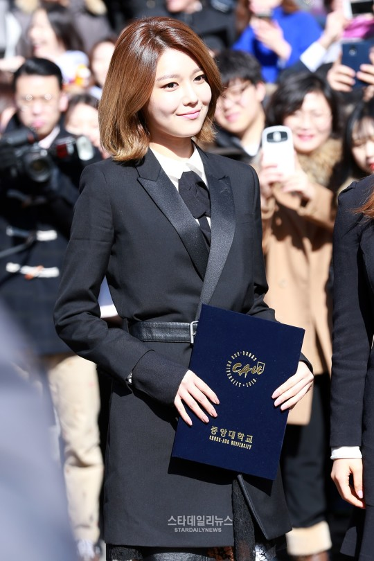 graduation star daily news sooyoung