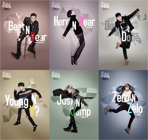 Updated: B.A.P Releases New World Tour Posters and Confirms New Album Title Song
