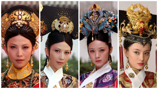 legend of zhen huan headdresses