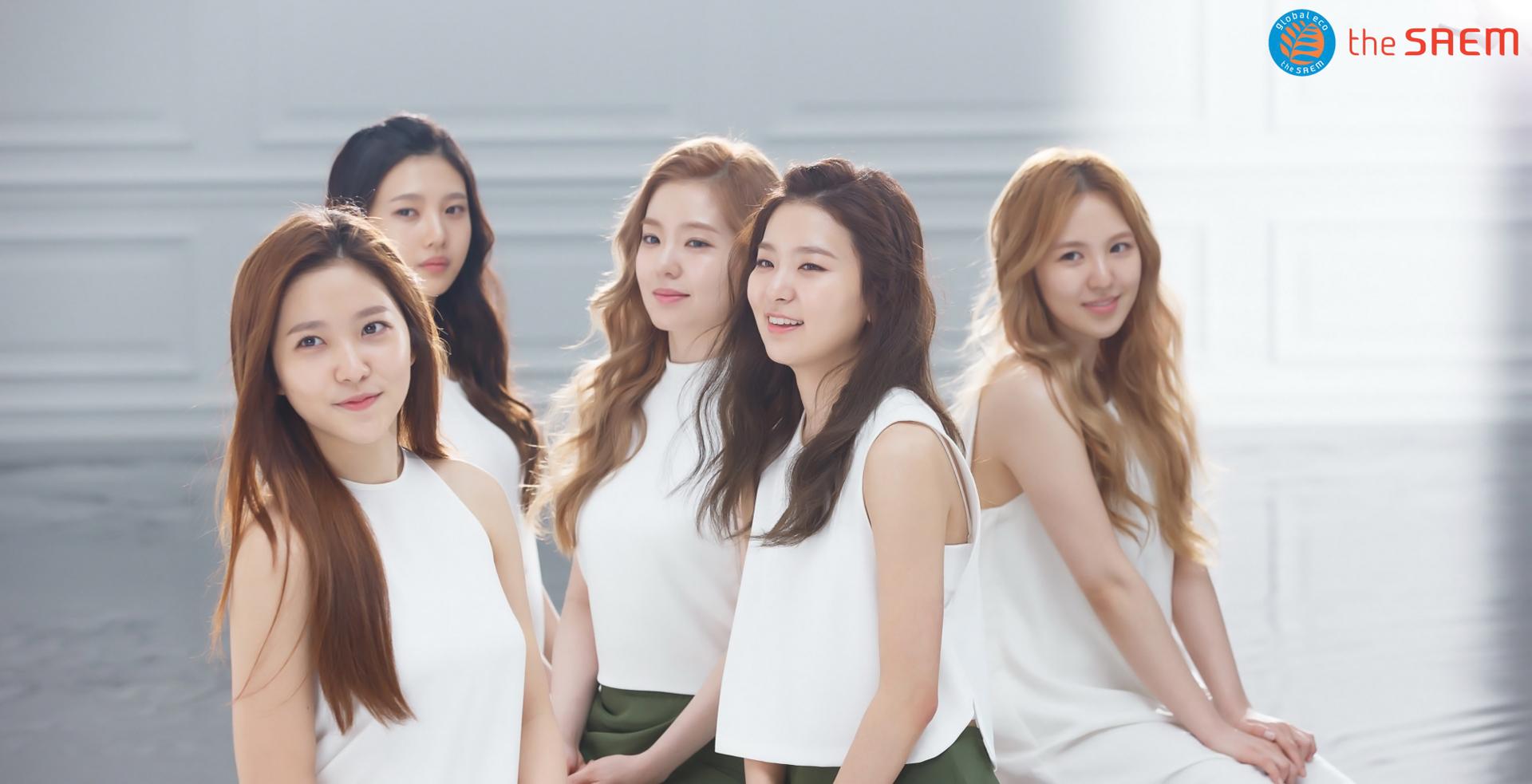 Red Velvet Chosen as New Models for Cosmetics Brand the Saem