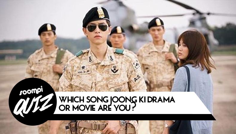 song joong ki drama movie quiz