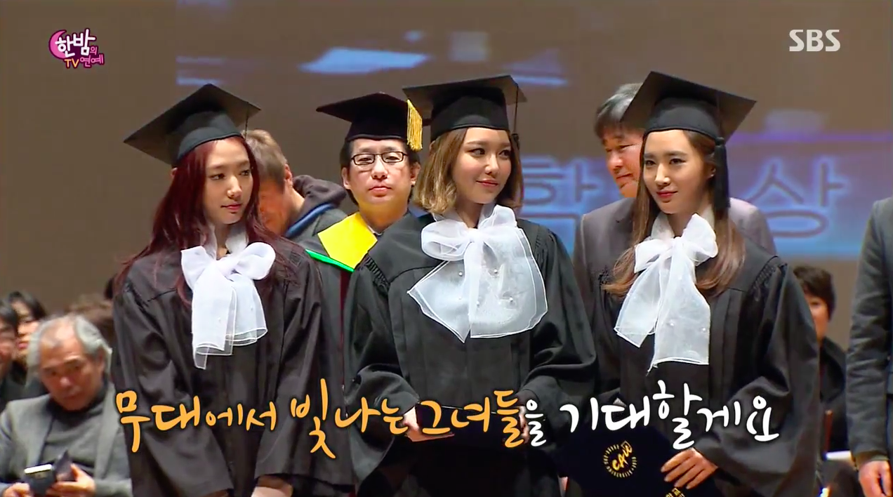 watch girls generation s sooyoung cries after graduating from park shin hye sooyoung yuri
