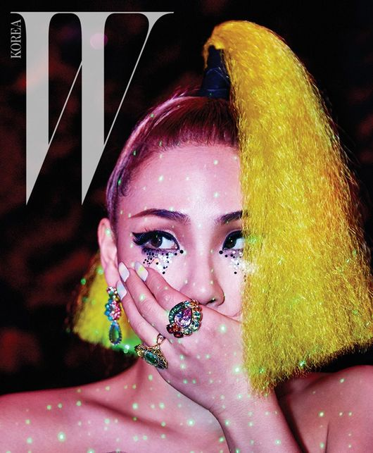 CL Wears Haute Couture in Her Latest Pictorial for W Korea