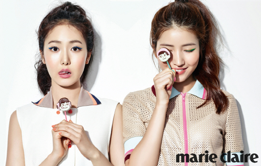 GFRIEND's SinB and Sowon Show Off Lovely and Fresh Looks for Marie Claire
