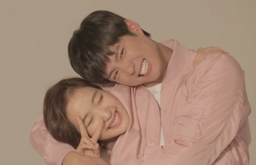Watch: Kim Go Eun and Park Bo Gum Couple Up in Behind-the-Scenes CF Clip