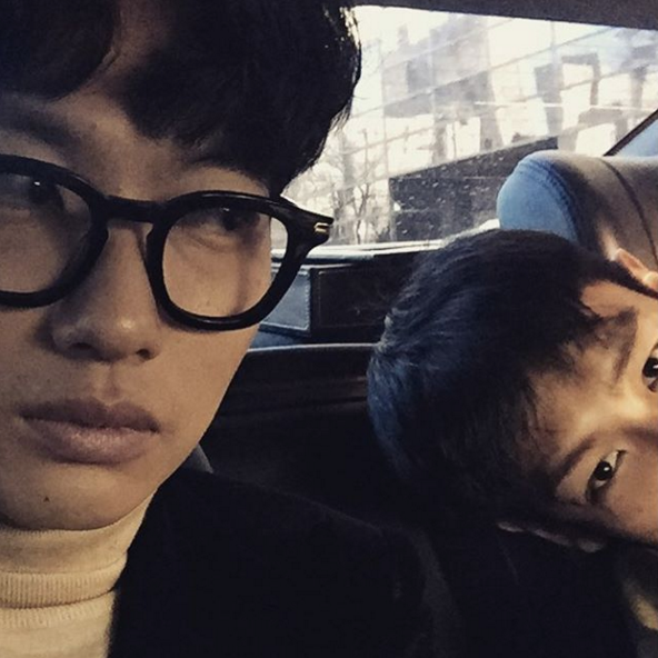 Watch T.O.P and Lee Dong Hwi's Playful Interaction on Instagram