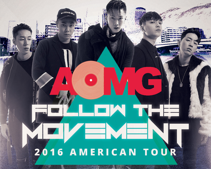 """AOMG To Bring Their """"Follow The Movement"""" Tour to the US This April"""