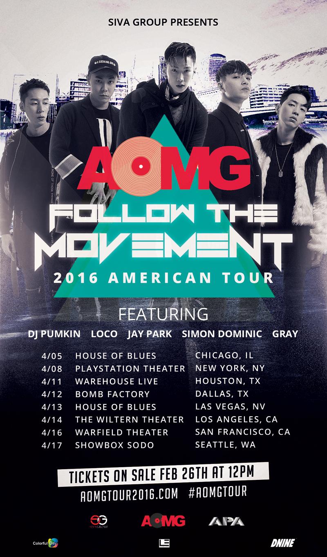 AOMG 2016 Tour full